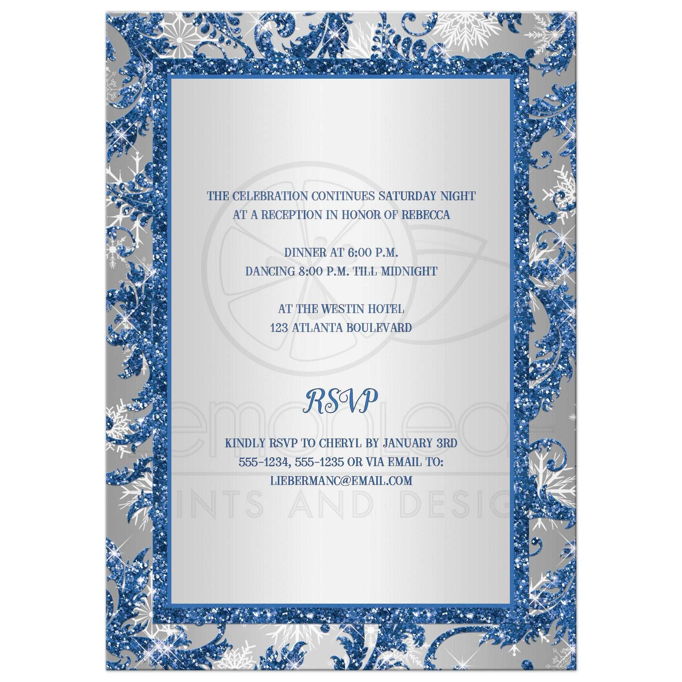 Fancy Christening Invitations