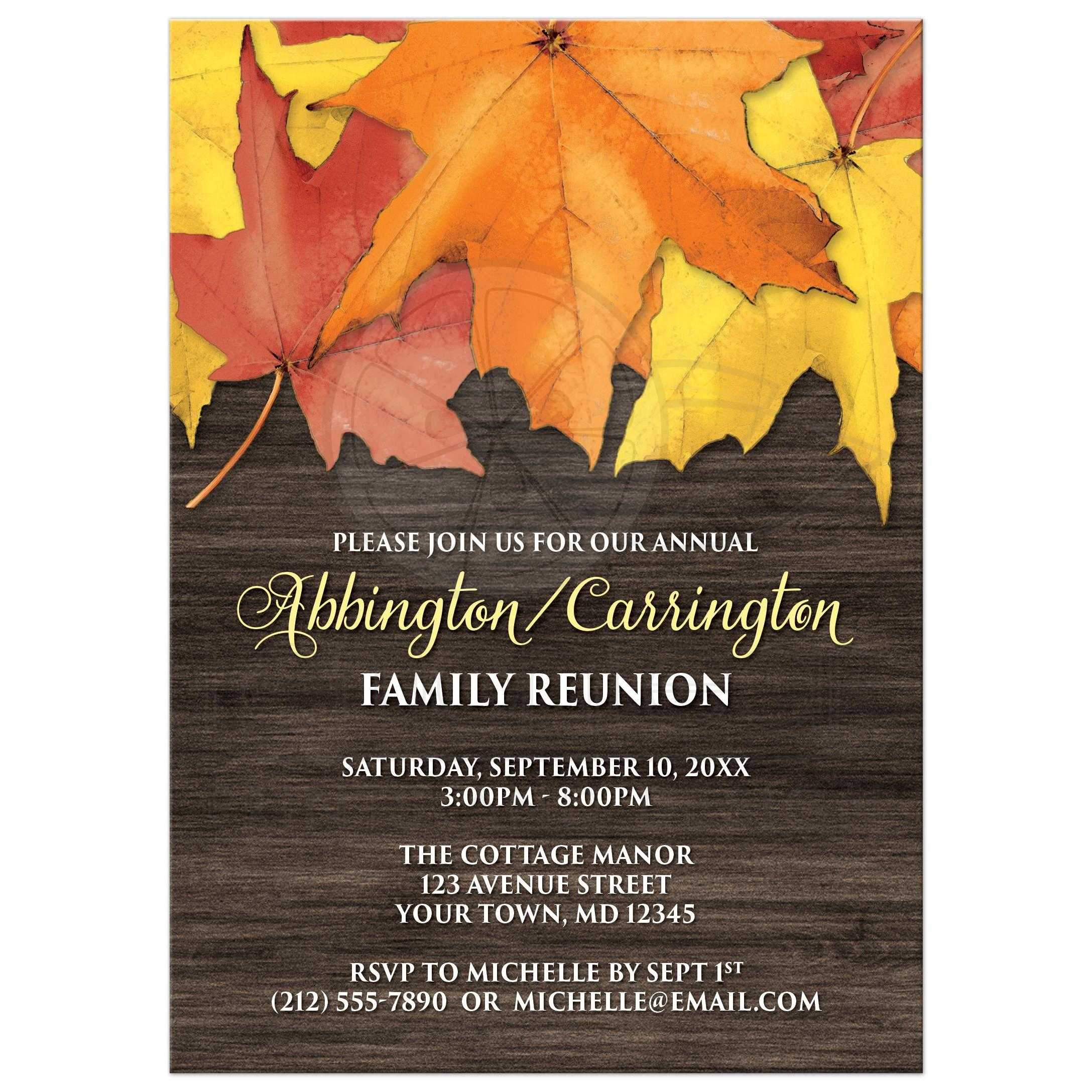 Red Baptism Invitations