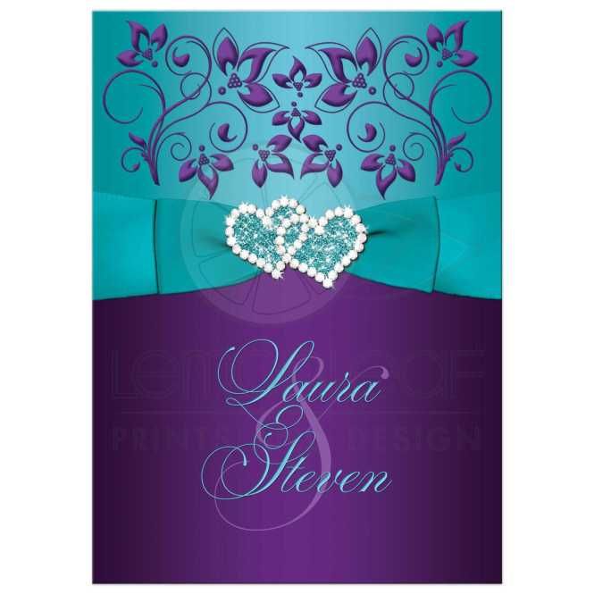 Wedding Invitation Printed Ribbon