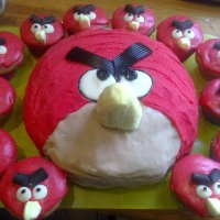Angry Birds and my favourite Cupcake recipe of all time