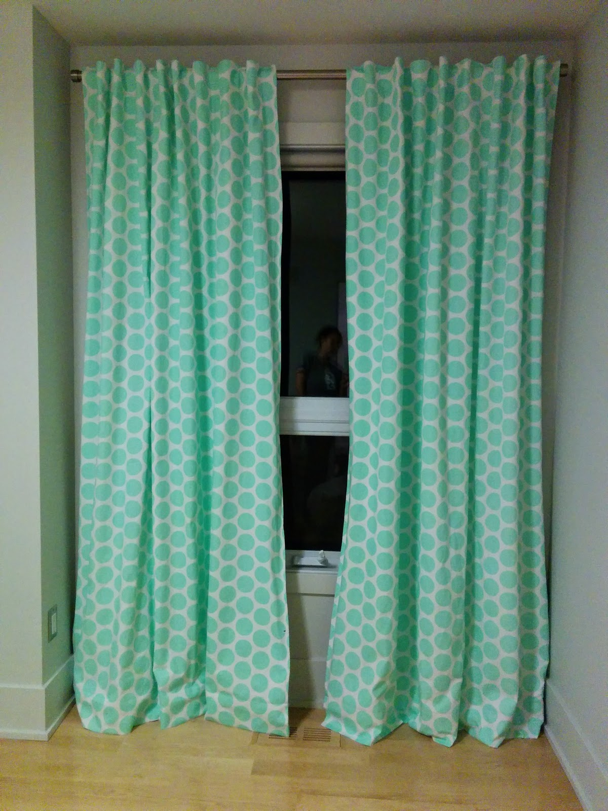 Tutorial Back Tab Blackout Curtains – Lemon And Mint
