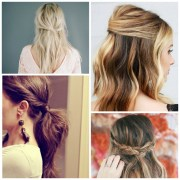 quick and easy lazy day hairstyles