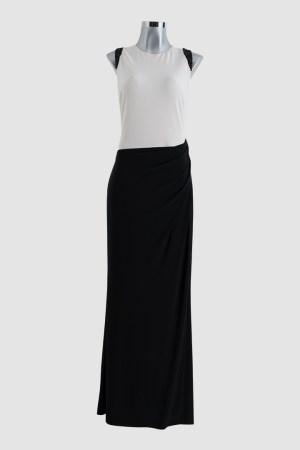renta-de-vestidos-en-puebla-blanco-con-negro-cintura-asimetrica-frente