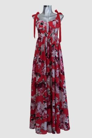 Vestido-largo-rojo-con-flores-corte-corazón-de-renta-en-Puebla_F