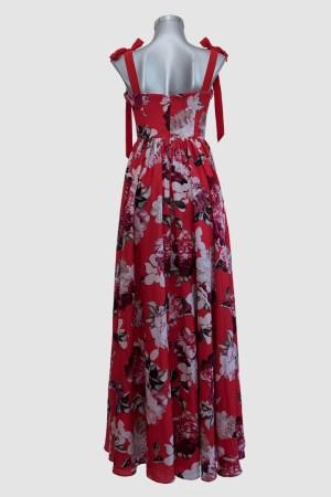 Vestido-largo-rojo-con-flores-corte-corazón-de-renta-en-Puebla_T