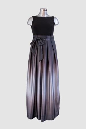 renta-de-vestidos-puebla-gris-con-negro-ombre-frente