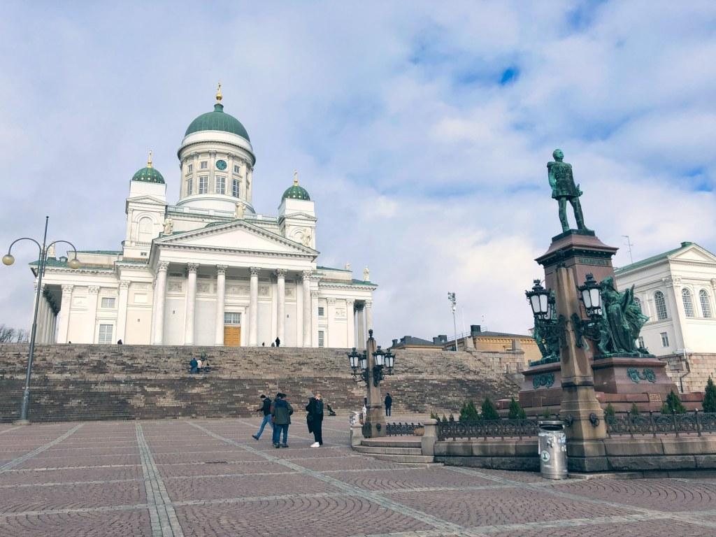 Senatsplatz Helsinki Finnland