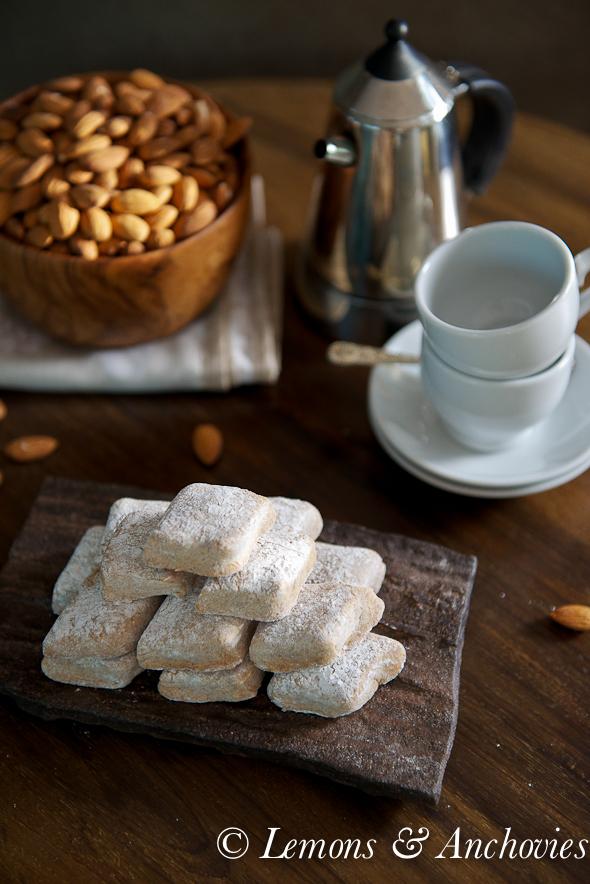 Ricciarelli Almond Paste Cookie Recipe Lemons And Anchovies