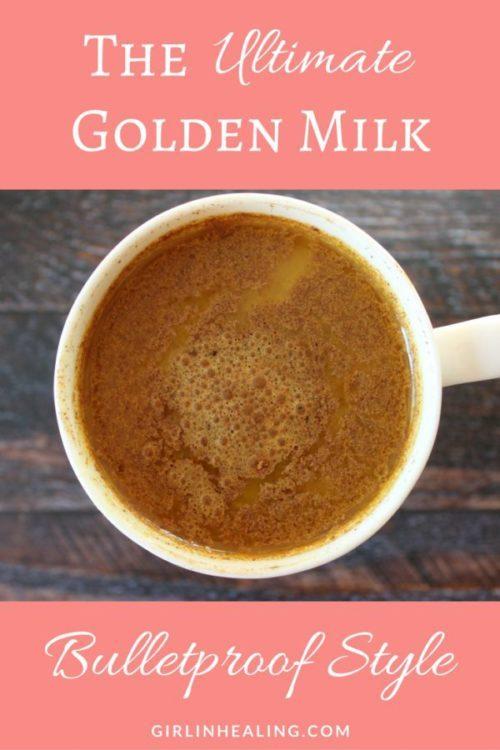 The Ultimate Golden Milk Bulletproof Style