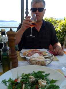 Lunch on Lake Maggiore