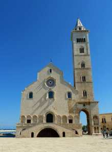 Trani's seaside cathedral