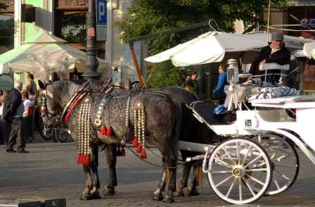 Krakow Old Town transport