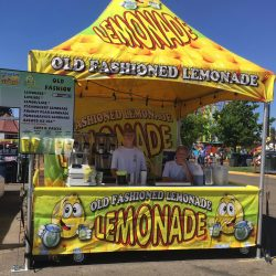 Our new Lemonade tent!