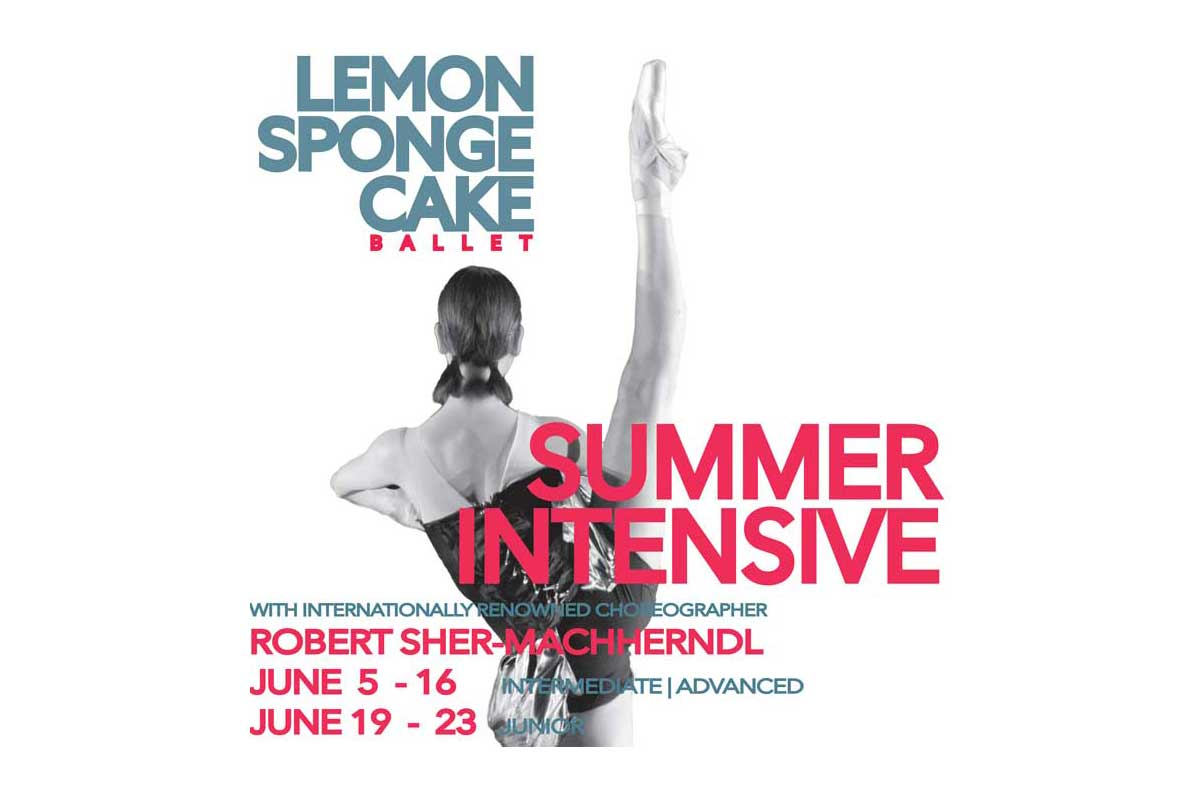Lemon Sponge Cake Contemporary Ballet - Summer Intensive