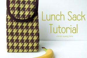Lunch Sack Tutorial