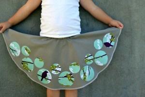 Circle Circle Skirt for B: Accuquilt Tutorial