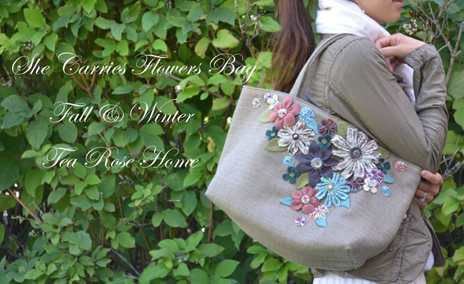 Purse Week Guest: Tea Rose Home