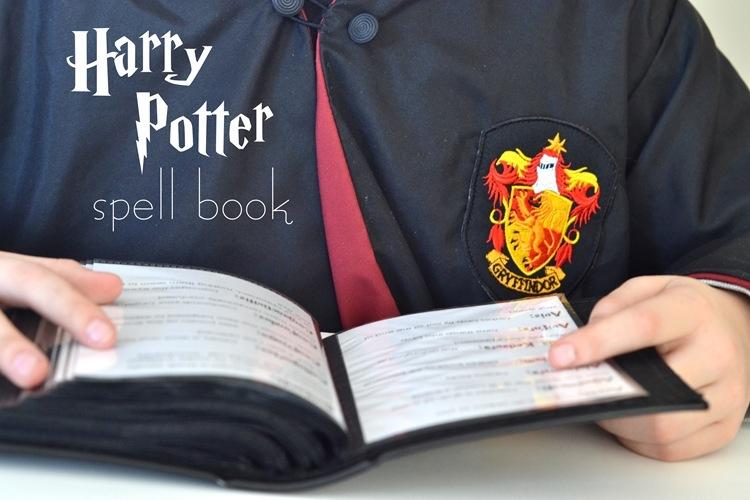 Harry Potter Spell Book:  Printable Spells