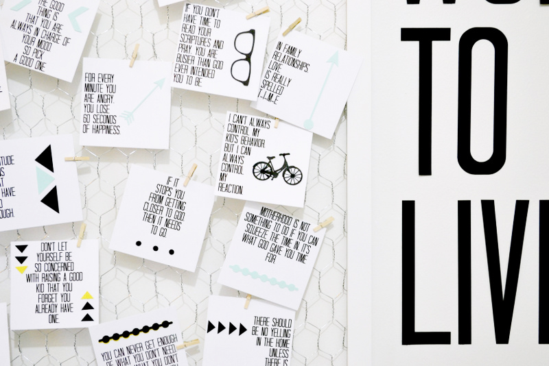 Pinterest Quotes To Live By: Words To Live By: Quote Board DIY (with Printable