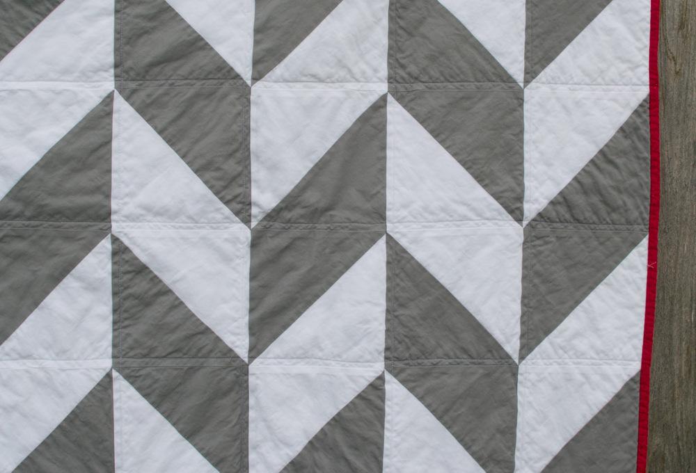 Herringbone Quilt // lemon squeezy home