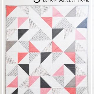 Triangle Quilt Tutorial // lemon squeezy home