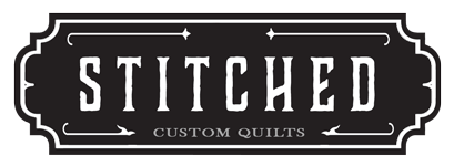 STITCHED Custom Quilt // lemon squeezy home