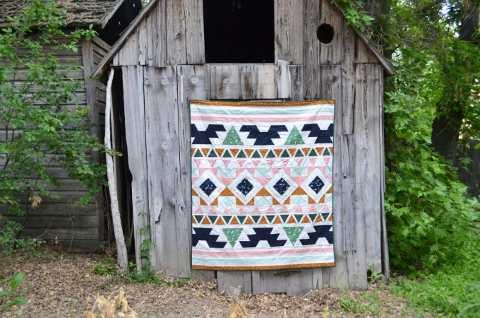 Warrior Quilt // Lemon Squeezy Home