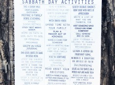 Sabbath Day Activities Printable // lemon squeezy home