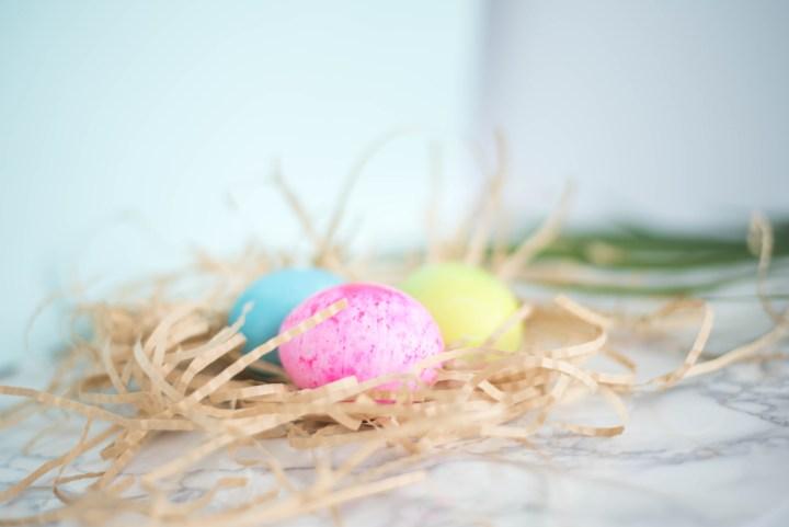 Easter basket DIY play dough recipe