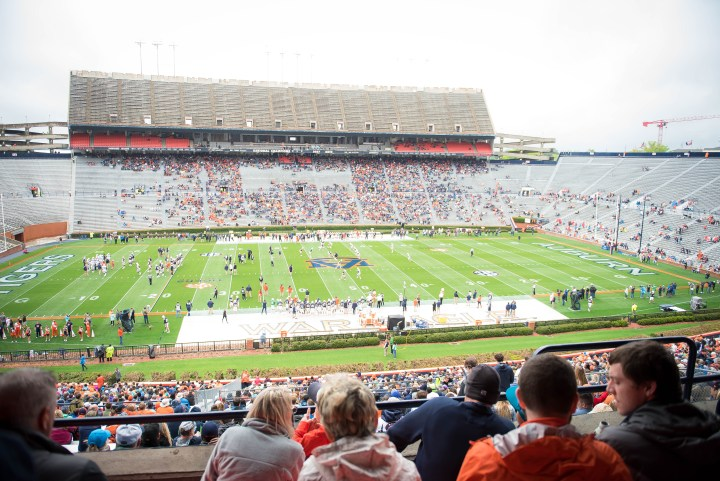 Auburn University football kid friendly