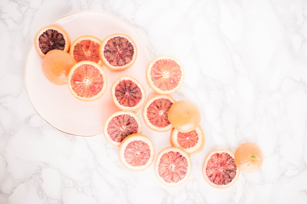 Blood Orange Banana Smoothie Recipe