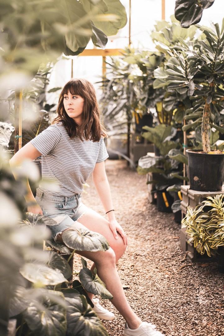 nashville fashion blogger portrait session