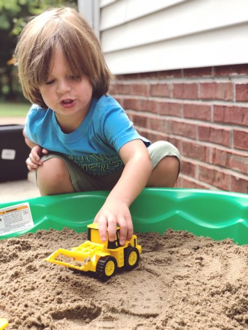 DIY toddler playtime