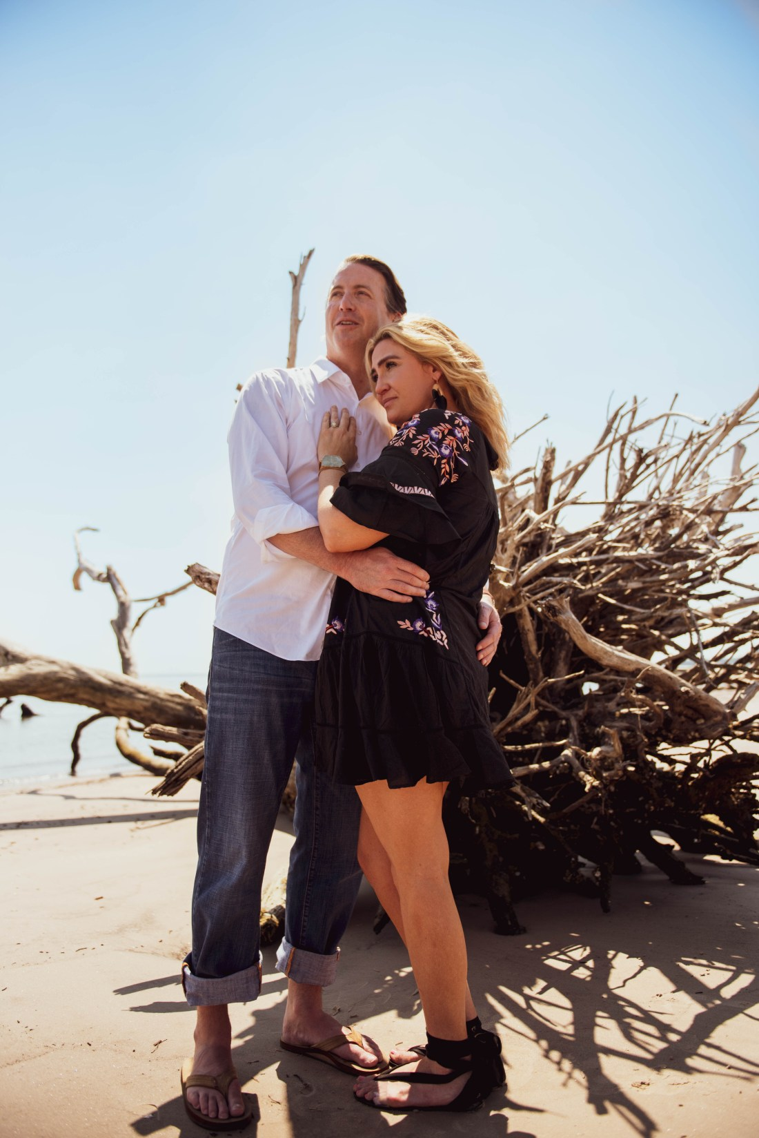 Florida beaches engagement shoot