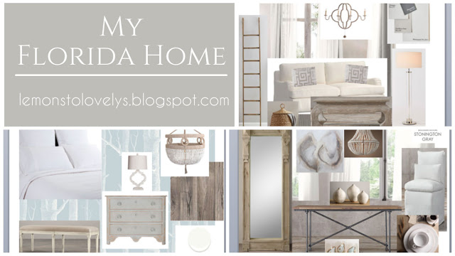 My Florida Home Mood Board . Sources and more on www.lemonstolovelys.blogspot.com