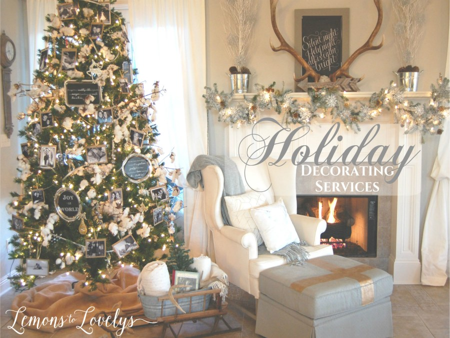 Holiday Decorating Services www.lemonstolovelys.com
