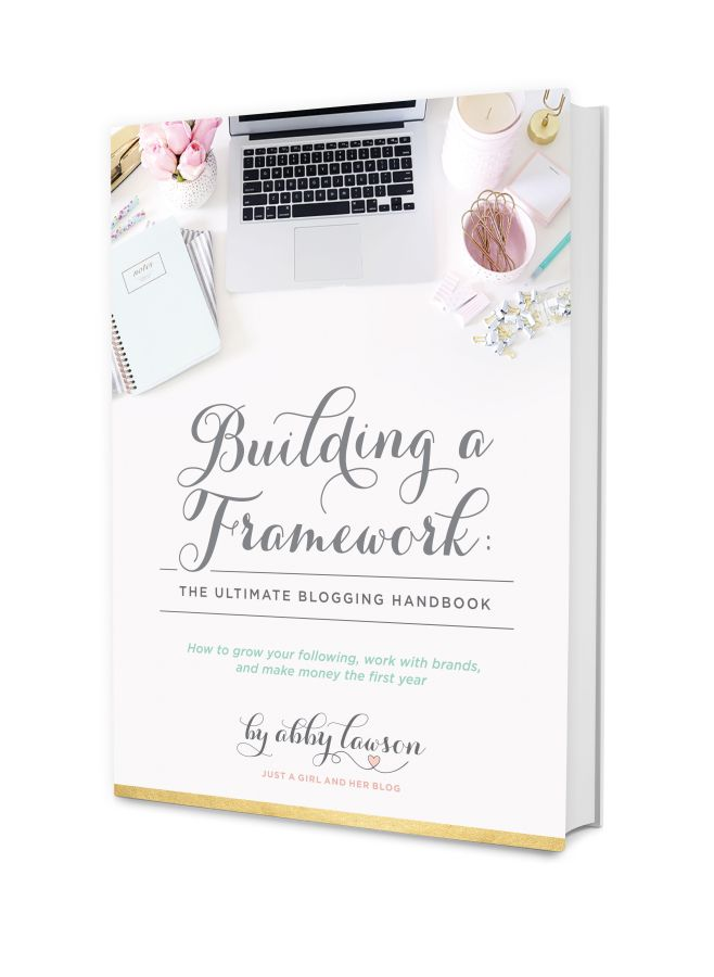 Building A Framework Ebook About Blogging