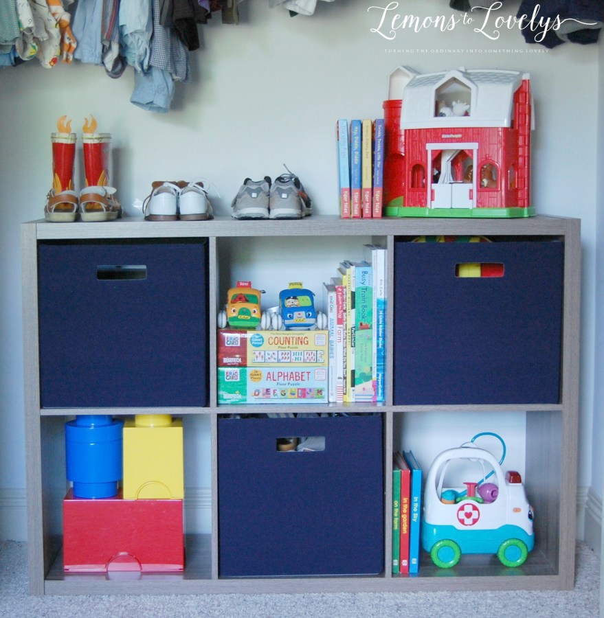 """Big Boy"" Room Ideas for Toddlers www.lemonstolovelys.com"