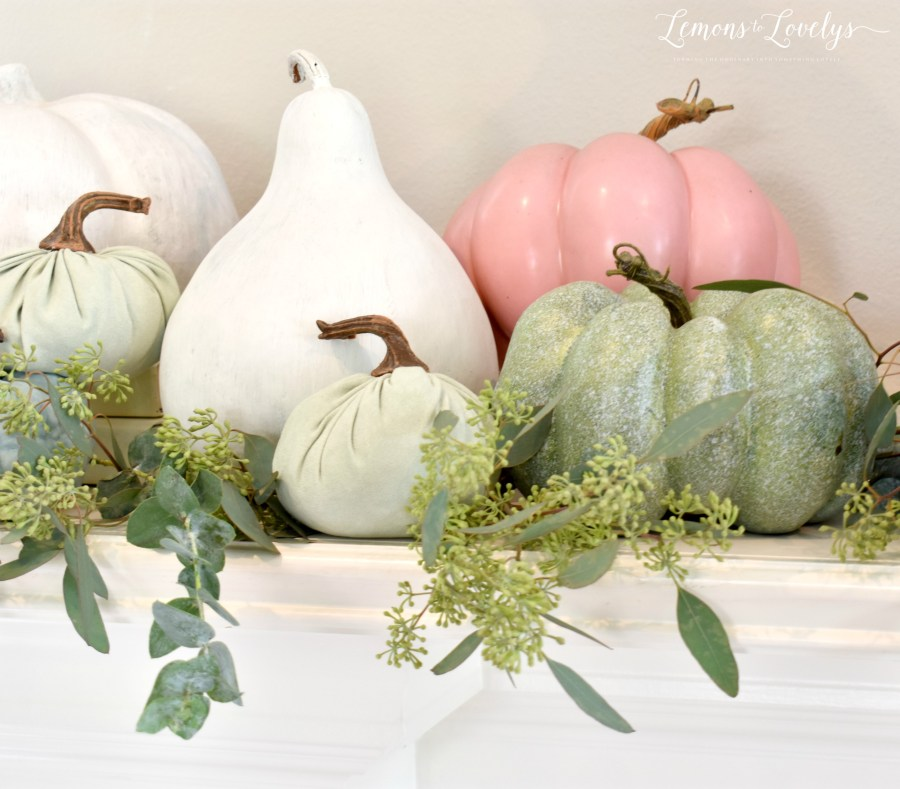 Touch of Fall Home Tour. More on the blog. www.lemonstolovelys.com