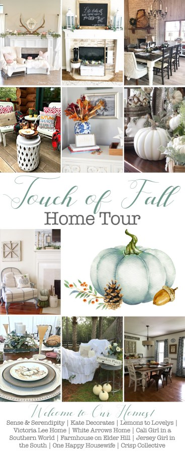 Touch of Fall Home Tour www.lemonstolovelys.com