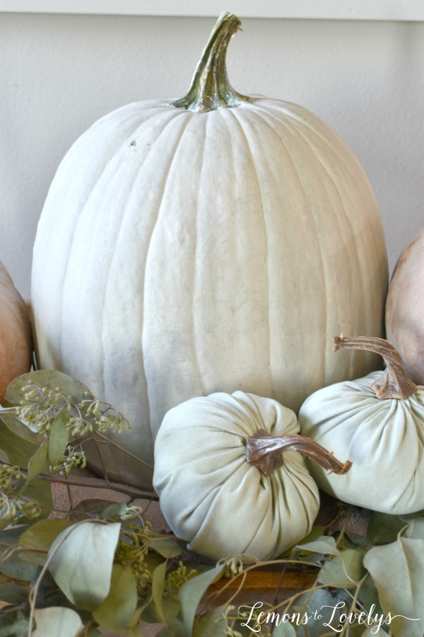 How to Paint Cinderella Pumpkins www.lemonstolovelys.com