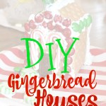 Christmas Activity for Kids- DIY Gingerbread Houses