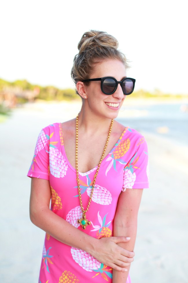 Hot Pink Pineapples
