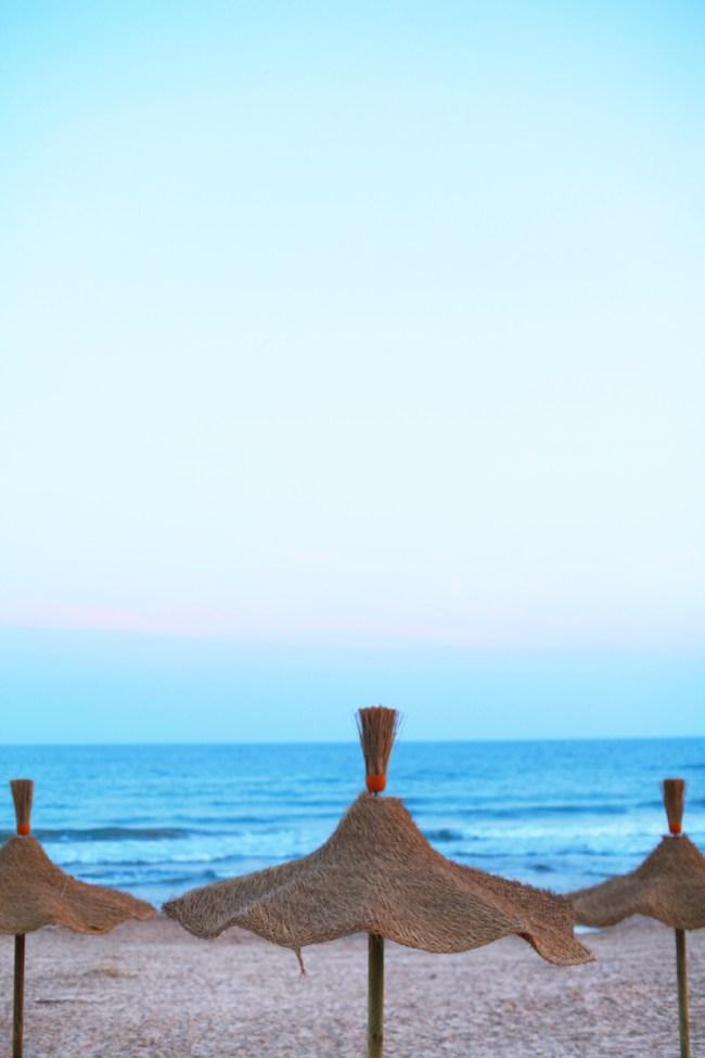 Sicily Beach at Sunset