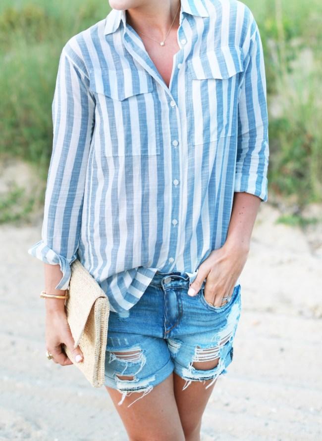 Madewell-Striped-Shirt