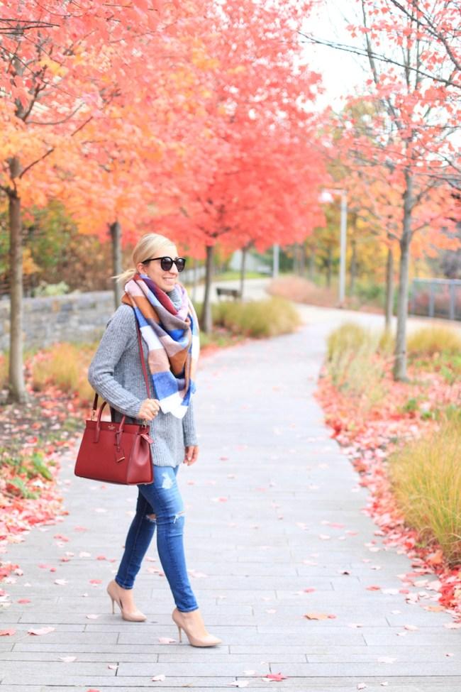 Fall Outfit Lemon Stripes