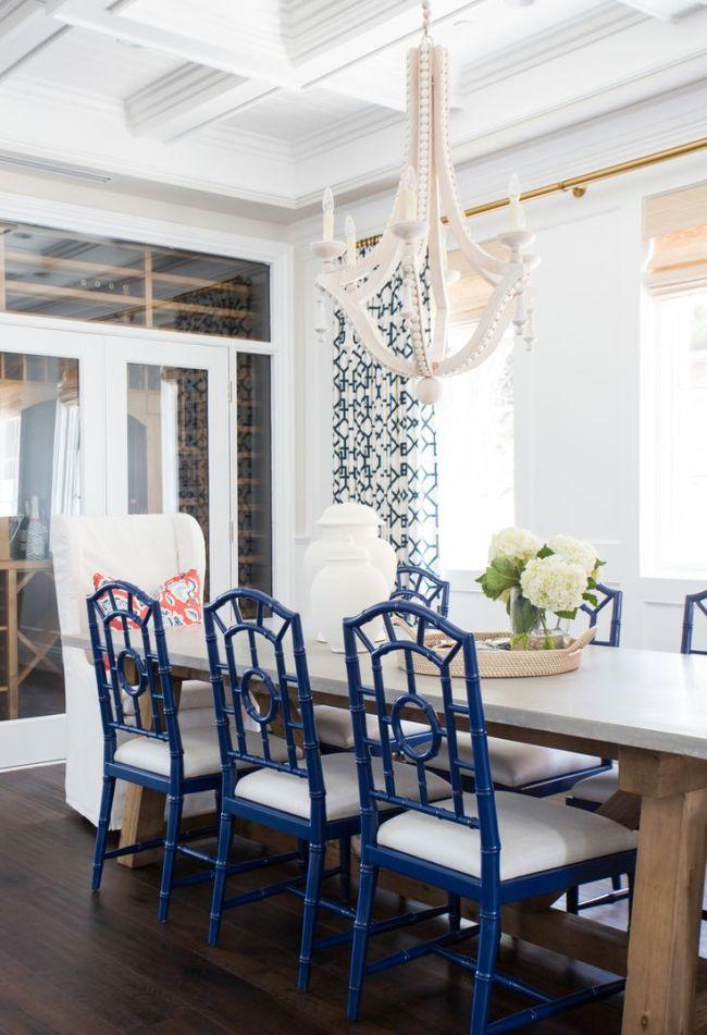 Lemon Stripes Dining Room