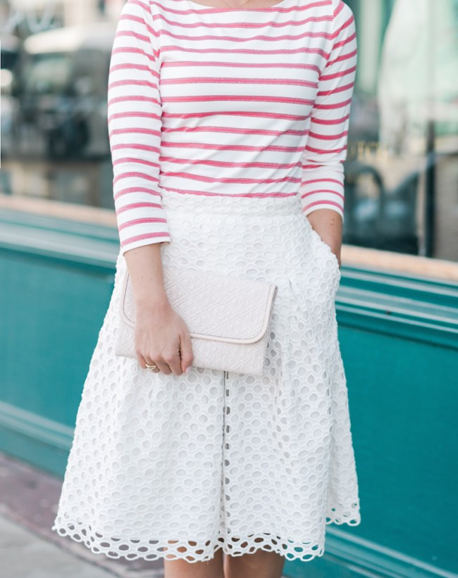 Stripes and Eyelet