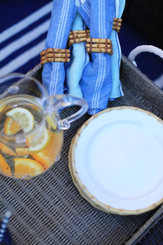 Juliska Napkins and Plates