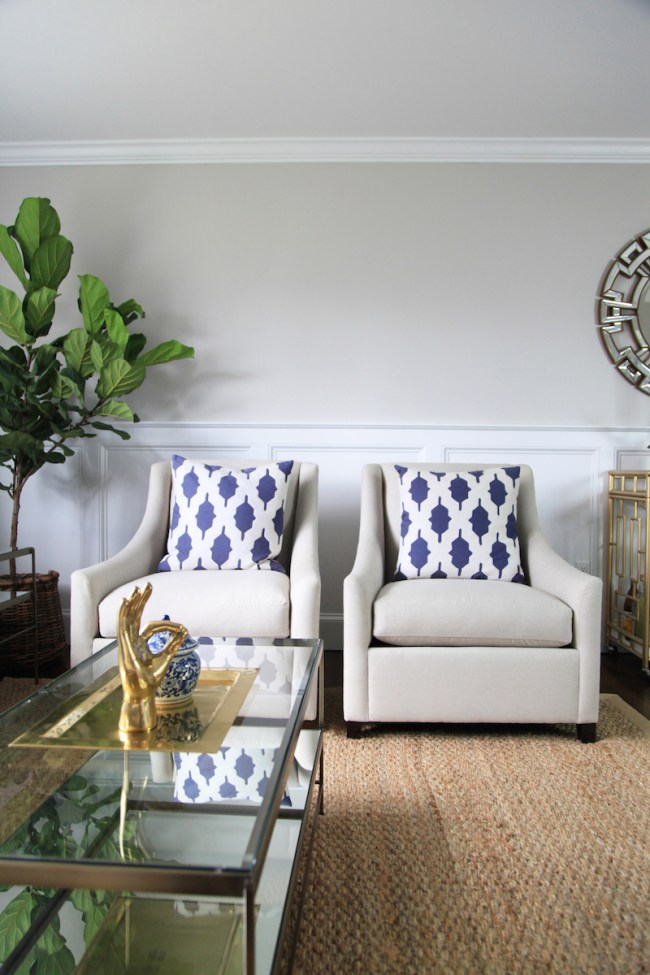 West Elm Accent Chairs
